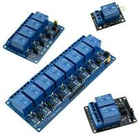 5V 1/2/4/8/16 Channel Board Module Relay Switch For Arduino Raspberry ARM DSP