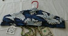 Hawaiian Print Security Valuables Closet Clothes Hanger