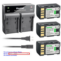 Kastar Battery Rapid Charger for JVC BN-VF815 & JVC GZ-MG575 GZ-MG575AC GZ-MG555