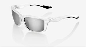 100% Daze - Matte Translucent Crystal Clear - Mirror Lens