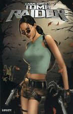 Tomb Raider # 28 Darkness # 16 WITCHBLADE # 42 triptyque de VARIANT-Set * Signé *