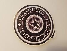 #289 Sex Drugs Rock-N-Roll Star 9,5 cm!  AUFKLEBER AUTOCOLLANT STICKER ADHESIVE