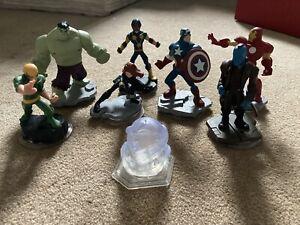 Disney Infinity Marvel Avengers Bundle x9