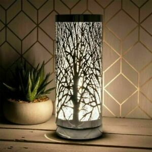 Desire LED Aroma Tree Cylinder Electric Lamp Wax Melt Oil Burner GIFT BOXED