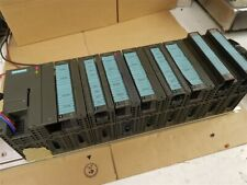 Siemens Simatic S7-300 PLC I/O Module 24v DC with I/O Modules