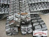 1 Paar 300er Gummiketten Baggerketten Short Pitch f.Neuson 2503,2503RD,Cat 302.4