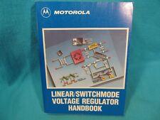Motorola Linear Switchmode Voltage Reglator Handbook Data Reference Book 1989