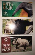 Pittsburgh Zoo PPG Aquarium 2015-2017 Lot Of 3 Brochure guidemaps.    I