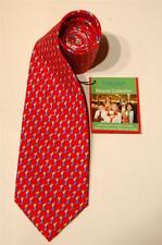 "JOSEPH A BANK MIRACLE COLL (901), SILK NECKTIE, RED, CHRISTMAS ""STOCKINGS"",  NWT"