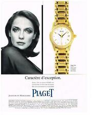 PUBLICITE ADVERTISING   1995   PIAGET  COLLECTION MONTRES REF POLO