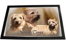 Designer Fussmatte Norfolk Terrier 1 Norfolkterrier Hundeteppich Fussabtreter 80
