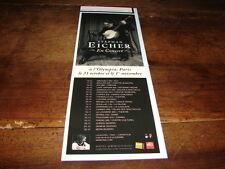 STEPHAN EICHER - PETITE PUBLICITE CONCERT ELDORADO !!!!