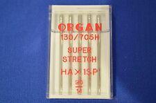 Organe Aiguilles Machine à Coudre Domestique HA X 1SP SUPER STRETCH, taille 90 / 14