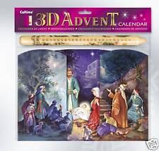 Christmas Nativity Advent Calendar & Candle Set 11184