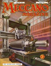 Meccano Magazine, Edition French, N° 4 April 1937, Bel Condition