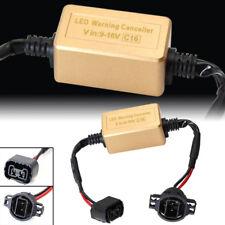 2PC 5202 2504 PSX24W LED Headlight Decoder Canbus Adapter Anti-Flicker Resistors