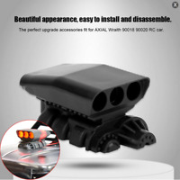 Supercharger Engine Hood Cover Air Intake for 1/10 AXIAL Wraith 90018 RC Car DIY