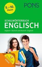 PONS Schulwörterbuch Englisch | Bundle | PONS-Wörterbücher | 1 Taschenbuch