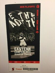 TORONTO RAPTORS VS ORLANDO APRIL 23, 2019 PLAYOFF TICKET STUB-RD 1 HOME GAME 3