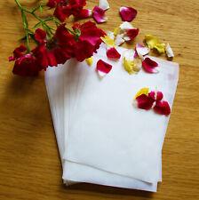 10/25 paquetes de papel Bricolaje Boda Fiesta Confeti Favor Sobres Peal & sello de la aleta