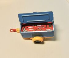 Vintage Corgi Toy  Pennyburn Trailer Blue w TOOLS and Chest