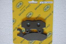 FRONT BRAKE PADS fits KAWASAKI KX 125 250 500, 89-93 KX125 KX250 KX500