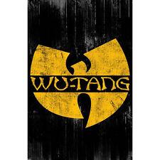 Wu Tang Clan - W POSTER 61x91cm NEW *American Hip Hop Music Band New York