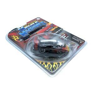 The Original Muscle Machines 1969 69 Dodge Daytona Car Black Flames Diecast 1/64