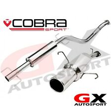 VA17 Cobra Sport Vauxhall Astra G Coupe 98-04 Cat Back Exhaust Resonated