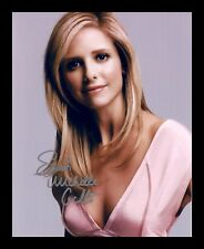 SARAH MICHELLE GELLAR AUTOGRAPHED SIGNED & FRAMED PP POSTER PHOTO 2