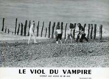 SEXY SOLANGE PRADEL LE VIOL DU VAMPIRE JEAN ROLLIN 1968 VINTAGE PHOTO ORIGINAL 1