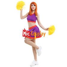 Cheerleader Kim Ann Possible Sportswear Cheerleading Uniform Dress Costume set