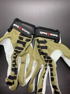 Mens Reebok Crossfit Training Gloves Green Size Med