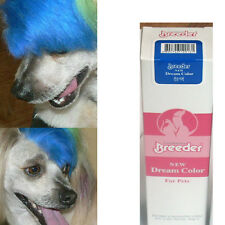 blue color dog hair dye color 50g Harmless pet dye natural fruit blue pet hair