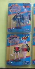 2016 Gentle Giant Super Powers Series 1 Micro Figures - Batman & Robin