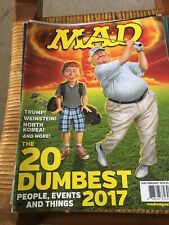 MAD Magazine #549 February 2018          President Donald Trump Cover       2018
