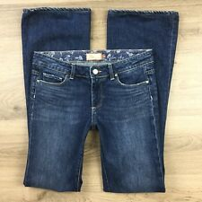 Paige Women's Jeans Hollywood Hills Boot Cut Size 28 Actual W31 L32.5 (BQ7)
