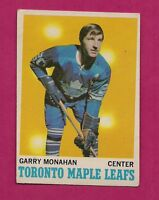 1970-71 OPC  # 112 LEAFS GARRY MONAHAN EX+ CARD (INV# A184)