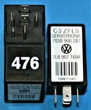 VW Touareg 476 Servotronic Relay 7L6 907 160 A