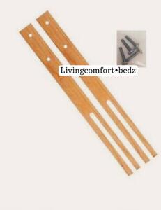 headboard struts Legs x2 QUALITY WOOD Legs Drilled & slotted MULTI FIX All Divan