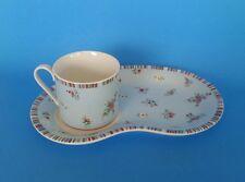 Laura Ashley High Tea Breakfast Set Tea and Toast Plate w/ cup mug