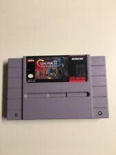 Contra III 3: The Alien Wars Authentic-SNES Super Nintendo