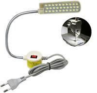 30-LED Nähmaschinen Leuchte Arbeitslicht Schwanenhals Lampe mit Magnetfuß 2W