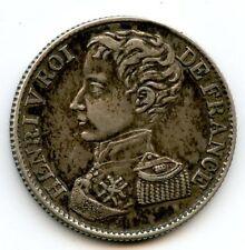 France Henri V Prétendant 1 Franc 1831