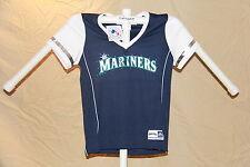 Seattle Mariners MLB Fan Fashion JERSEY/Shirt  MAJESTIC Womens Medium NWT $40