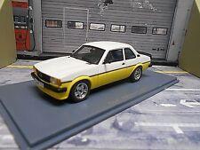 OPEL Ascona B 2000 i i2000 Sport gelb weiss 1979 - 1981 NEO Resin 1:43
