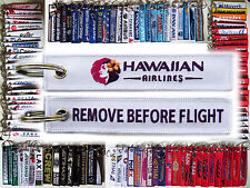 Keyring HAWAIIAN AIRLINES Remove Before Flight keychain for pilot Hawaii HNL