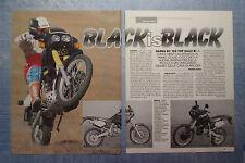 MOTOSPRINT990-PROVA / TEST-1990- GILERA RC 125 TOP RALLY - 2 fogli