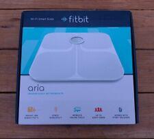 Fitbit Aria Wi-Fi Smart Scale FB201W (WHITE) NEW IN BOX!