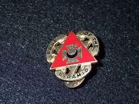 """US Army 82nd Engineer Battalion Crest DI DUI Clutch Back """"Base of the Pyramid"""""""
